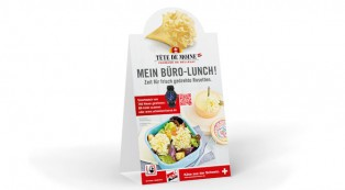 Büro-Lunch