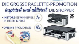 Raclette-Promotion für Cambozola