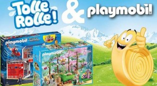 Tolle Rolle-Promo mit Playmobil