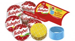 Babybel-Aktionsnetz